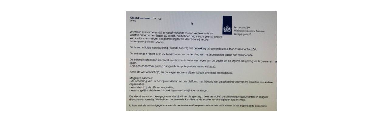 Pas op voor phishingmail inspectie SZW